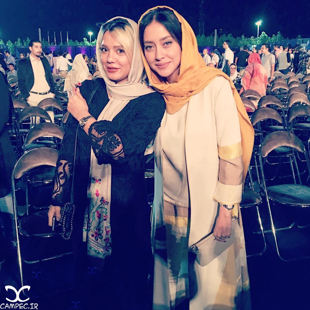 بهاره کیان افشار و رویا یوسفی در کنسرت شهرام و حافظ ناظری