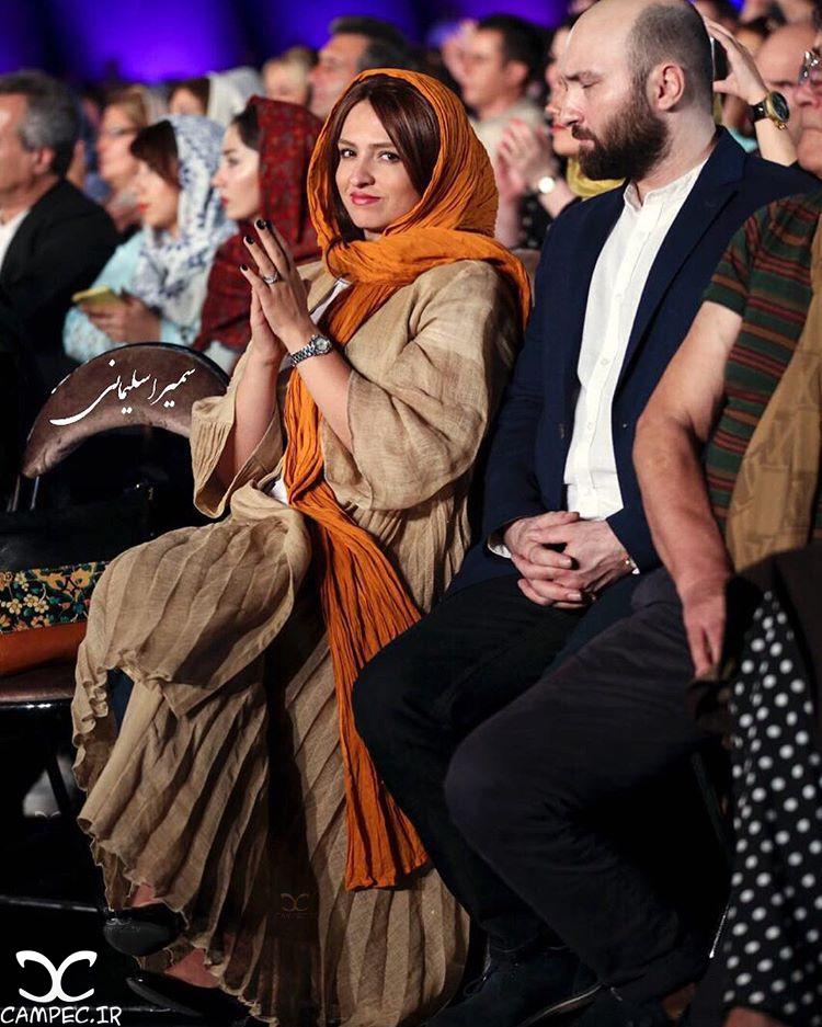 گلاره عباسی در کنسرت شهرام و حافظ ناظری