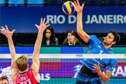 نتیجه و فیلم بازی والیبال ایران و آرژانتین المپیک 2016 ریو 18 مرداد 95