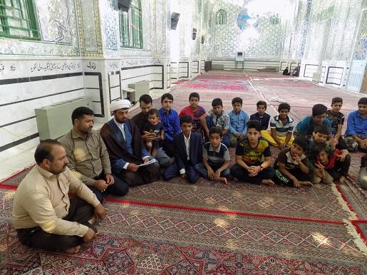 برگزاری مسابقه قران درصحن امامزاده سید جلال الدین اشرف