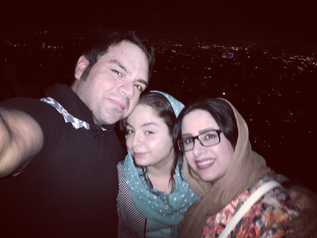 جدیدترین عکسهای شهرام قائدی و همسرش + بیوگرافی
