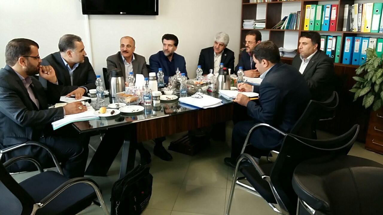 جلسه اداري انجمن وپست بانک