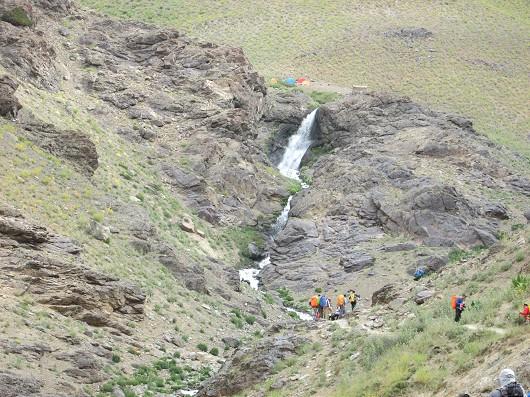 آبشار لالون (آبشار خلنو)