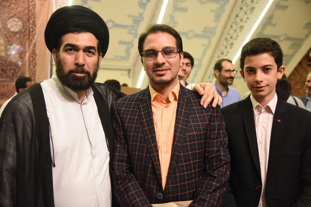 استاد حامد شاکرنژاد و حاج آقا محمودی