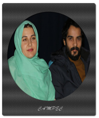 عکسهای گلوریا هاردی و همسرش ساعد سهیلی در برنامه خوشا شیراز