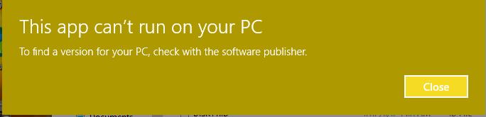 مشکل در نصب حسابداری هلو 4.2 در ویندوز 10