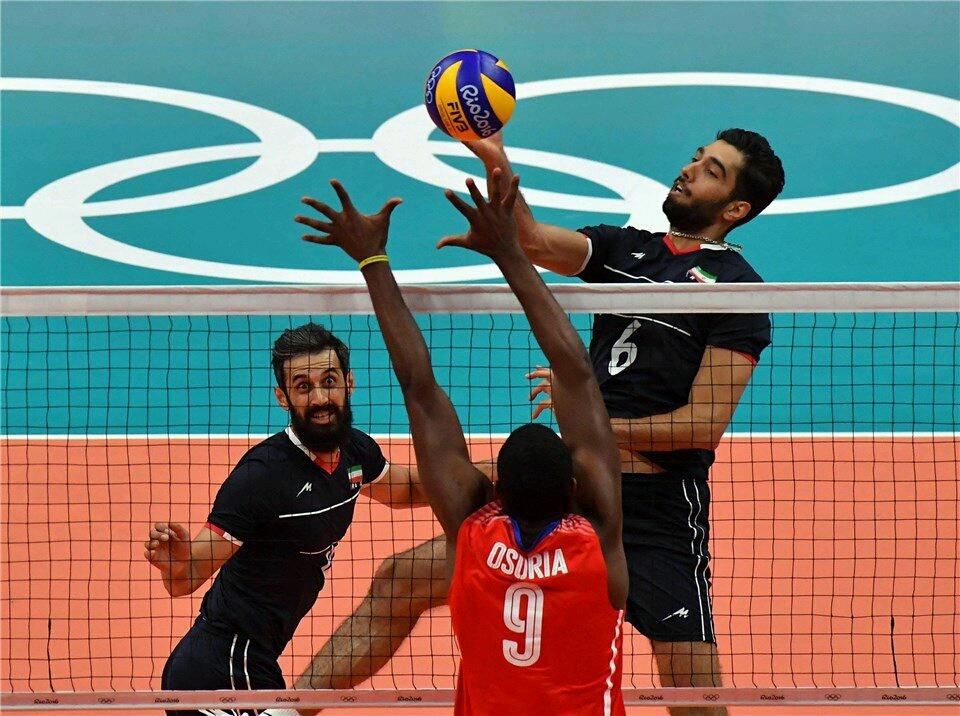 برد شیرین والیبال ایران  ( آفرین بر شما  دلاور مردان والیبال )