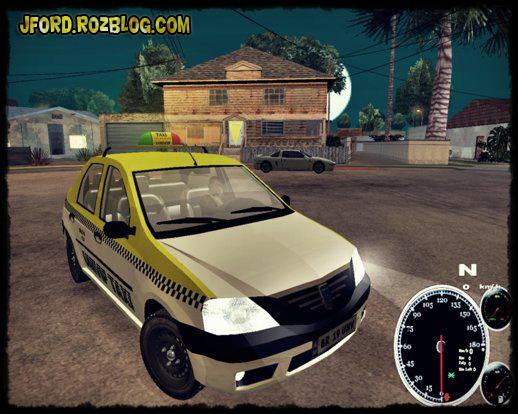 ماشین تاکسی برای جی تی ای 5