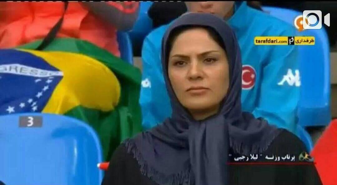 فیلم بی غیرت گفتن مجری و کارشناس شبکه ورزش به لیلا رجبی+واکنش به این ماجرا