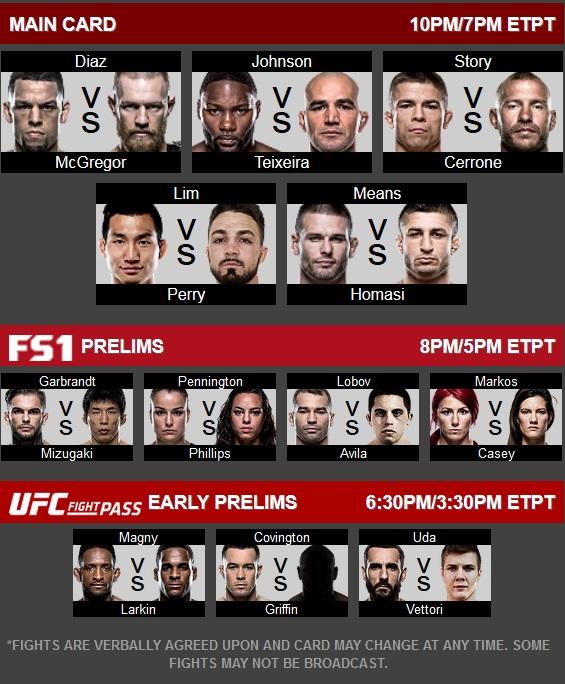 دانلود یو اف سی 202 | UFC 202: Diaz vs. McGregor II
