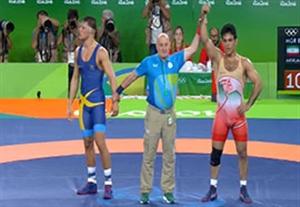 دانلود فیلم کشتی پیروزی حبیب الله اخلاقی مقابل زاکاریاس برگ از سوئد المپیک 2016 ریو