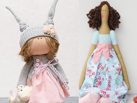 ع عروسک های روسی نمددون خمیری - مطالب آموزش عروسک روسی(تیلدا و غیره)