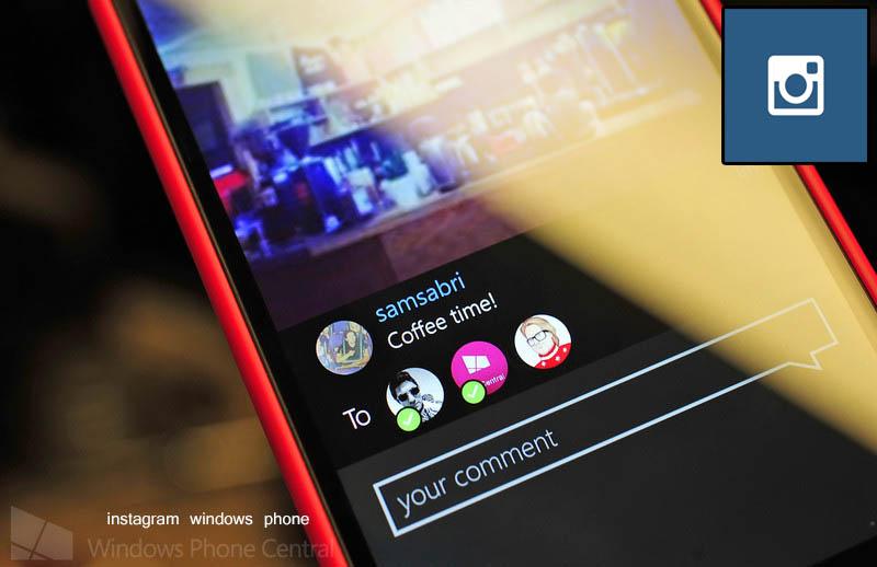 دانلود اینستاگرام برای ویندوز فون windows phon
