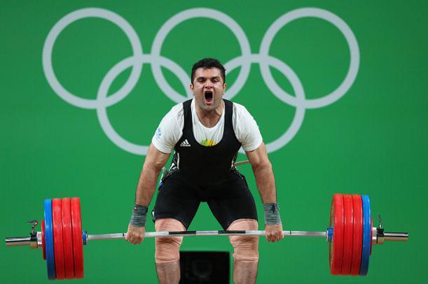 نتایج وزنهبرداری محمدرضا براری در المپیک 2016 ریو | دانلود فیلم کامل