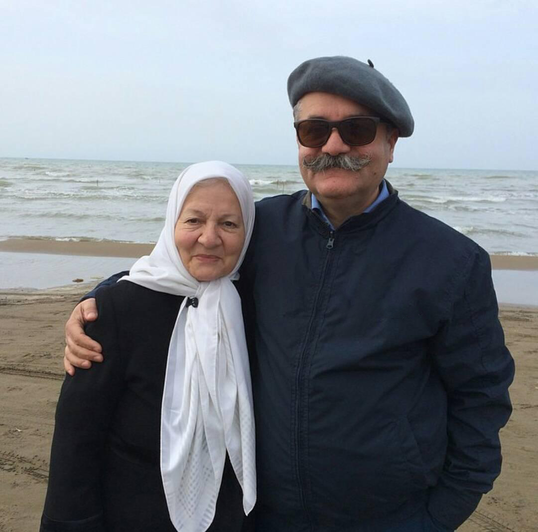 عکسها و بیوگرافی امیر شهاب رضویان و مادرش رابعه مدنی