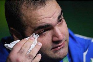 اشکهای بهداد سلیمی پس از حذف از المپیک 2016