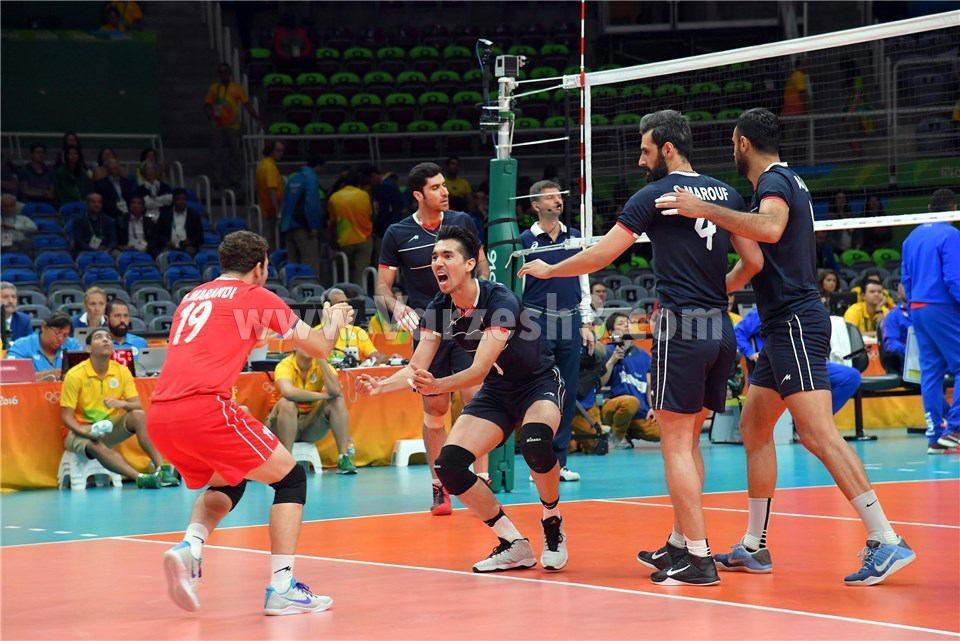 نتیجه والیبال ایران و ایتالیا در المپیک 2016 | فیلم بازی | 28 مرداد 95