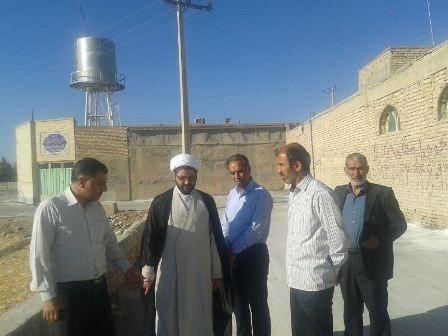 بازدید از روند پیشرفت پروژه های ساختمانی امامزاده سید محمد(ع)