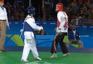فیلم مسابقه تکواندو کیمیا علیزاده در رده بندی المپیک 2016 ریو برای کسب مدال برنز+نتیجه