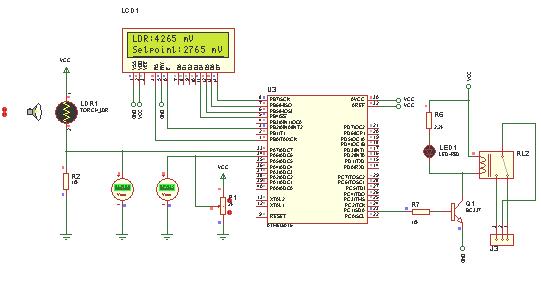 فعال سازی فتوسل با AVR همراه با نمایشگر lcd