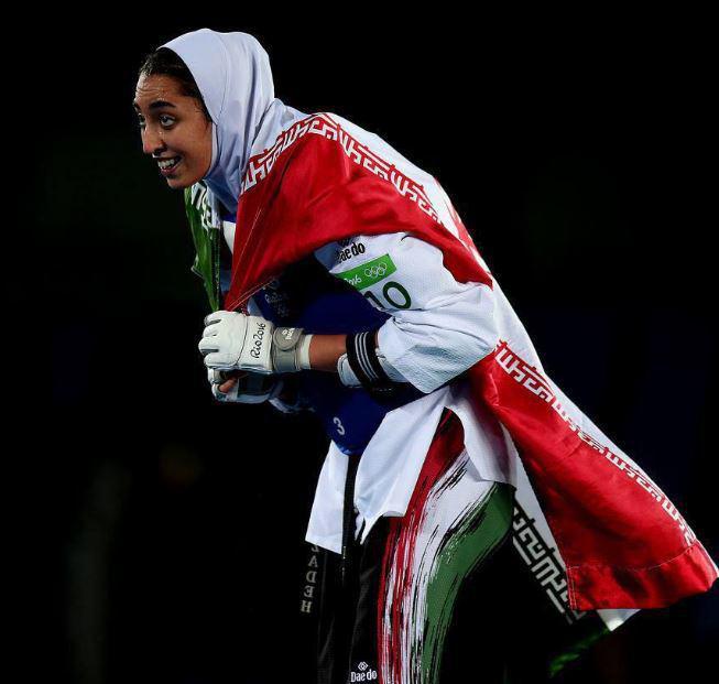 دانلود کسب مدال برنر کیمیا علیزاده در المپیک ریو ۲۰۱۶+فیلم بازی