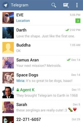 دانلود برنامه پیام رسان تلگرام - Telegram 3.0.1