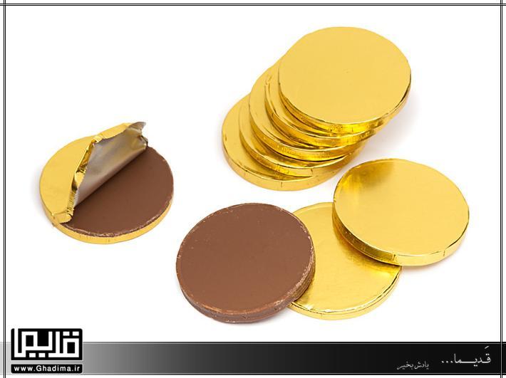 شکلات کاکایویی سکه ای