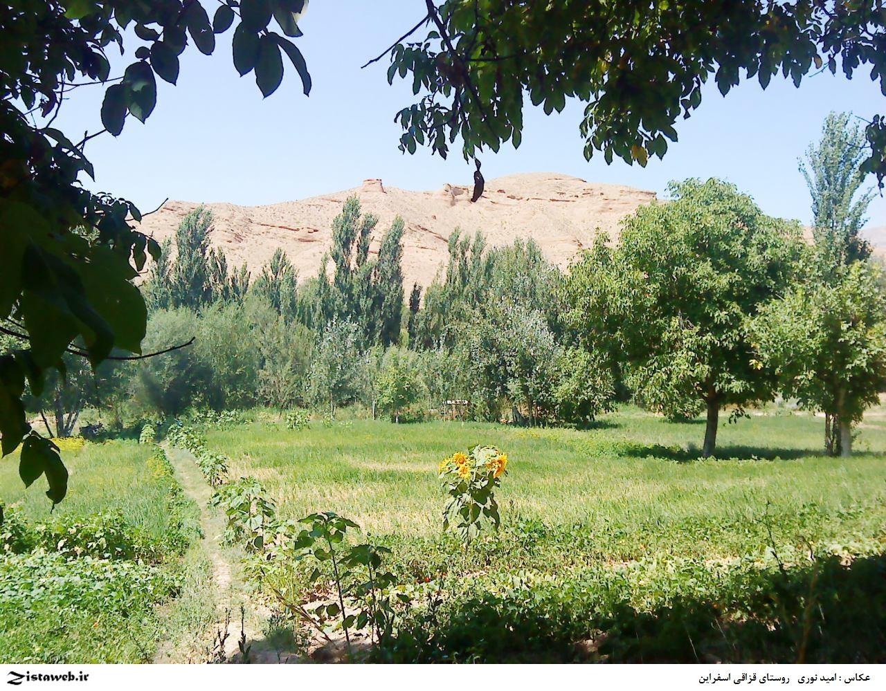 عکس های زیبا از روستای قزاقی اسفراین / عکاس : امید نوری