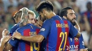 نتیجه بازی بارسلونا و رئال بتیس شنبه 30 مرداد 95 خلاصه و گلها