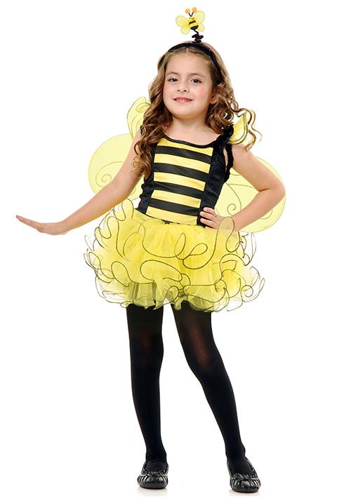 girls_sweet_honey_bee_costume THEME TAVALOD ZANBOOR مدل لباس تم تولد زنبوری دخترانه بالماسکه