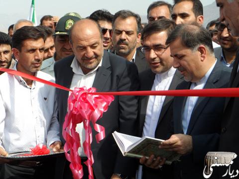 افتتاح پل فهلیان ممسنی