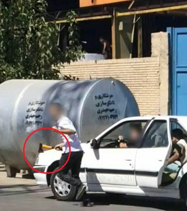 ماجرای قتل با تبر چند روز پیش در شیراز+عکس و جزئیات