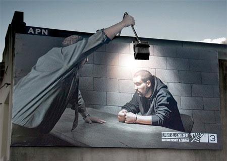 تصاویر دیدنی از تبلیغ های باحال و خلاقانه