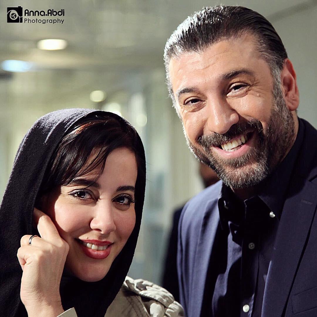 آشا محرابی و علی انصاریان
