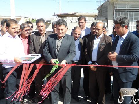 افتتاح پارک شهر خومه زار
