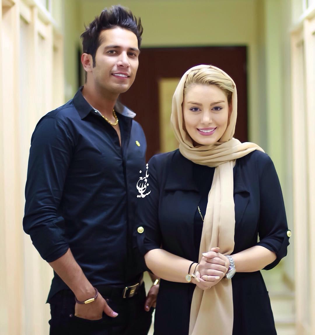 عکس جدیدی از سحر قریشی و همسرش امید علومی