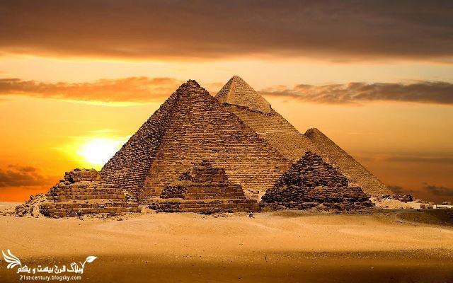 اهرام مصر {ثلاثه} - قاهره