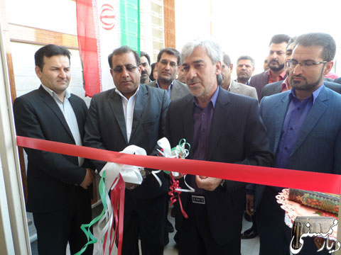 افتتاح ساختمان بهزیستی ممسنی