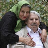 بیوگرافی داوود رشیدی و همسرش احترام برومند+عکس