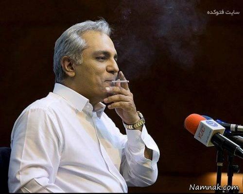 سیگار کشیدن مهران مدیری در نشست خبری+عکس و جزئیات