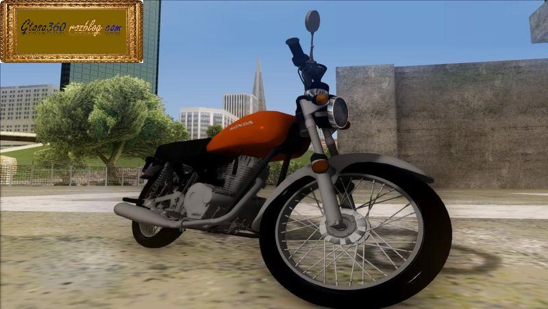 موتور هوندا125 کلاسیک برای gta sa