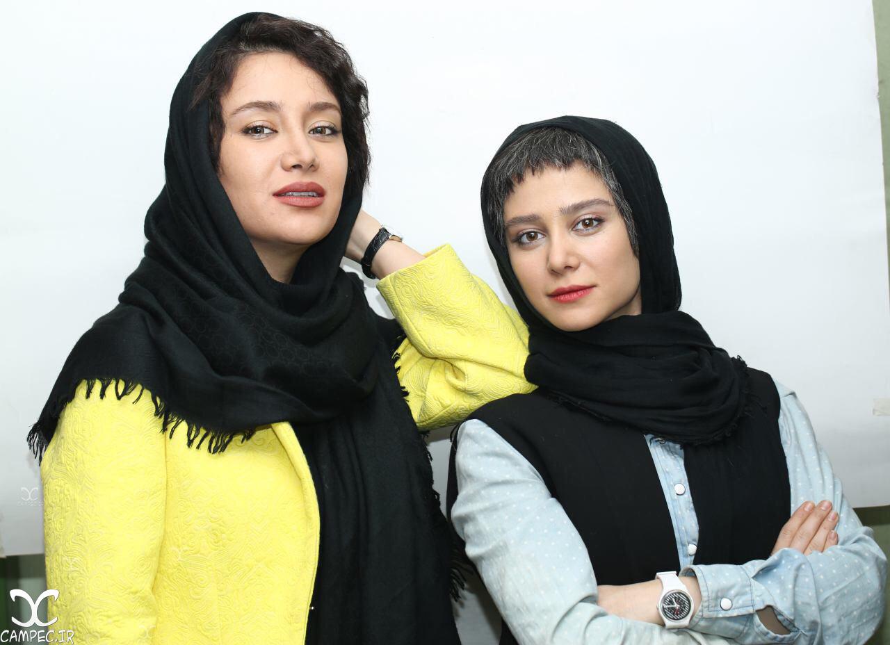 بهاره افشاری و الناز حبیبی