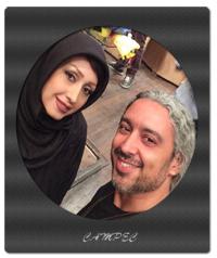 مازیار فلاحی و همسرش بیوگرافی و عکسها