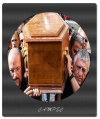 مراسم تشییع پیکر داوود رشیدی
