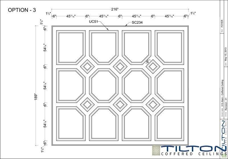 نقشه مناف سقف کلاسیک8