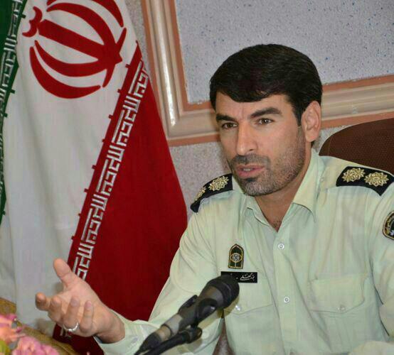 سرهنگ بزرگعلی نوری - فرمانده انتظامی شهرستان بهار