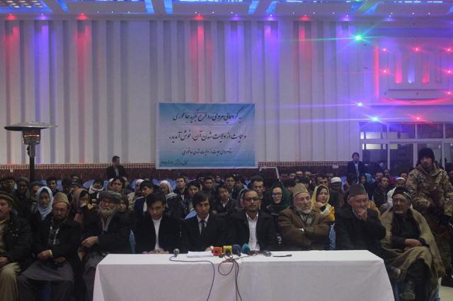 اعتراض شدید مردم جاغوری به سرور دانش و محمد محقق نسبت به تجزیه این ولسوالی