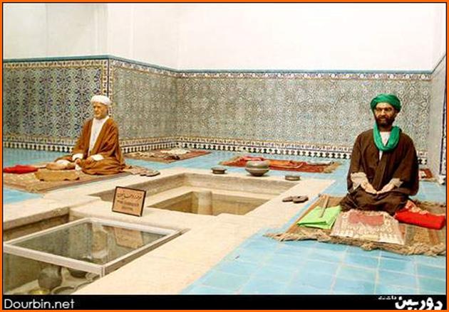 غرفه روحانیون،حمام گنجعلی خان