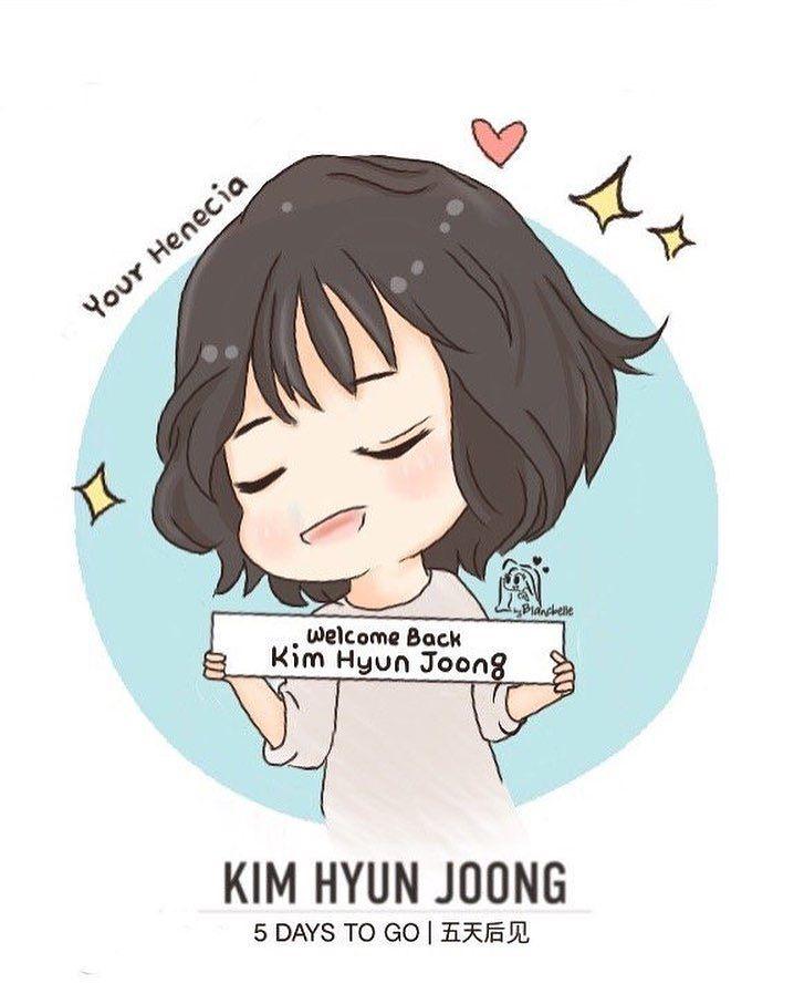 [blancbelle fanart] Kim Hyun Joong - 5 Days to go [2017.02.06]