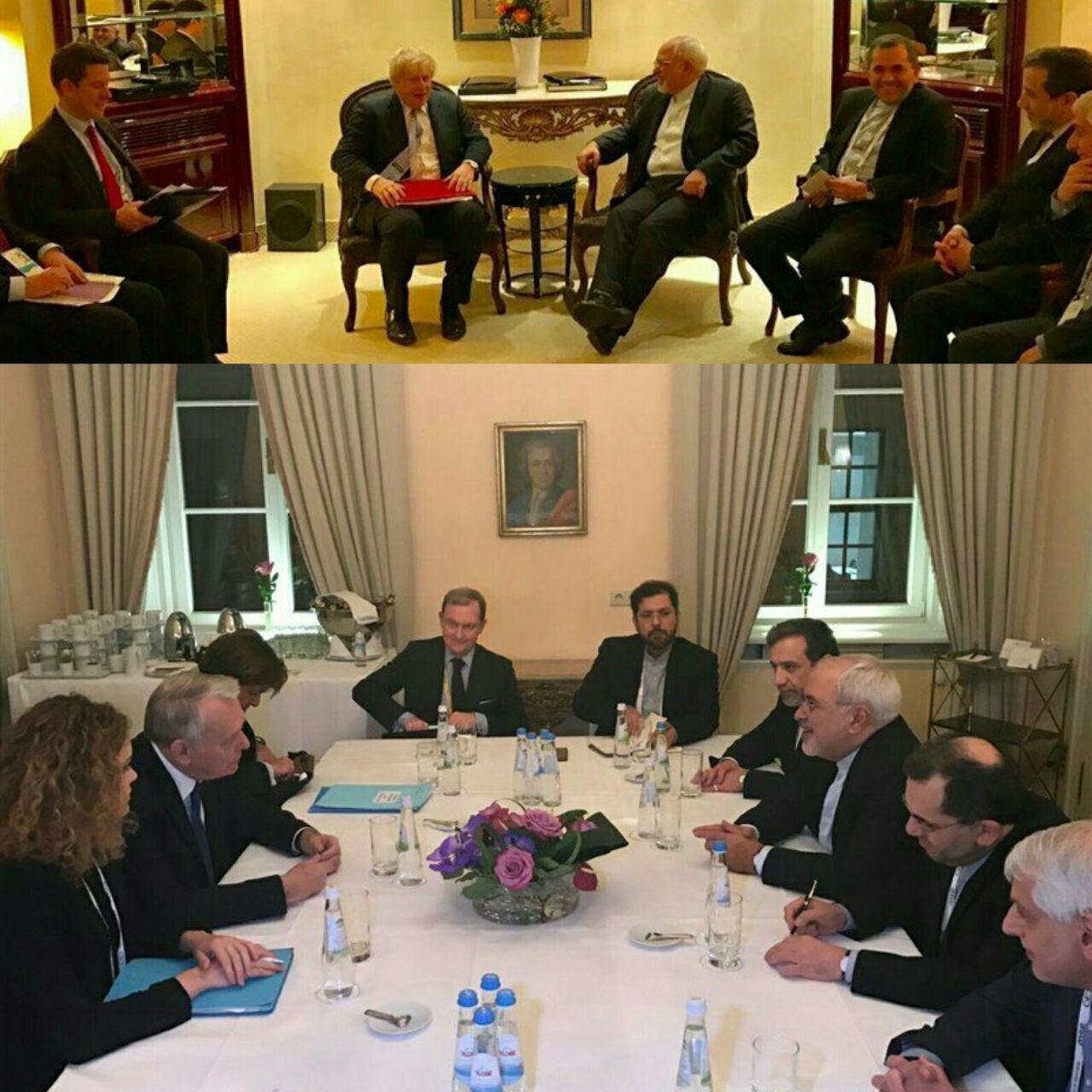 دیدار وزیر امور خارجه با 5+1